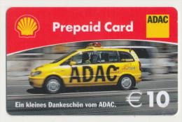 Shell - 10 € - Geschenkkarte/Giftcard - ADAC -   Gebraucht / Leer  !!!!! ( 267 ) - Gift Cards