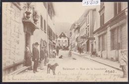 Delémont - Fête Du Peuple Jurassien 1984 - Reprint Cpa 1903 Rue De La Boucherie (13´809) - JU Jura