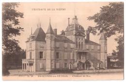 Varennes-les-Nevers - Château De Ris - édit. L.B. - Chocolaterie D'Aiguebelle 11 + Verso - Altri Comuni