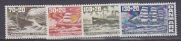 Denmark 1976 Sailing Ships / Denmark-America 4v ** Mnh (26717) - Nuevos