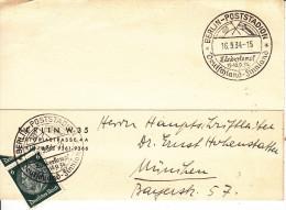 OLYMPISCHE SPIELE-OLYMPIC GAMES, Deutsches Reich / GERMAN REICH, 1934, Special Postmark !! - Verano 1936: Berlin