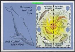 Falkland Islands 1984 Nature Conservation M/s ** Mnh (26720A) - Falklandeilanden