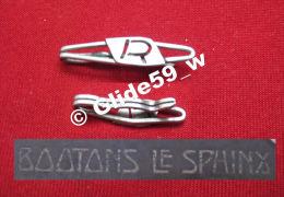 """Ancienne Pince à Cravate En Métal Argenté Avec Initiale """"R"""" (Boutons Le Sphinx) (années 40/50) - Accessoires"""
