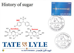 Algeria N° 1683/5 Alimentation Sucre Food Sugar Suministro Azúcar Zucchero Versorgung Zucker Sugar Cane Canne à Sucre - Chimie