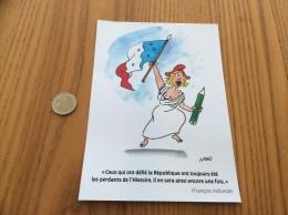 Déclaration François Hollande Avec Illustration NONO (Marianne) - Livres, BD, Revues