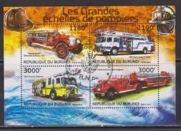 Burundi 2012 Cars, Fire Trucks - Burundi