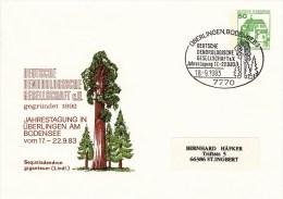 PU 113/63  Deutsche Dendrologische Gesellschaft E.V., Jahretagung In Überlingen Am Bodensee - Privatumschläge - Gebraucht
