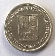 Monnaie - Venezuela - 50 Centimos 1954 - Argent - Superbe - - Venezuela