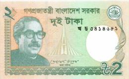 Billet Bangladsh 2 Rupees NEUF - Bangladesh