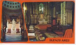 ARGENTINA - BUENOS AIRES  - Catedral Metropolitana Y Mausoleo Del Gral. Jose De San Martin - Argentina