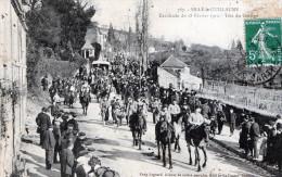 CPA -  72 - Sillé-le-Guillaume -Cavacade Du 18 Février 1912 - Tête Du Cortège - Sille Le Guillaume