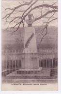 Auberive - Monument D'André Theuriet - France