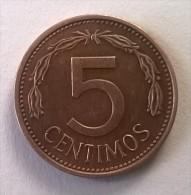 Monnaie - Venezuela - 5 Centimos 1977 - Superbe - - Venezuela
