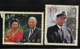 Norway 1997 King Harald Queen Sonja 60th Birthday Used - Norwegen