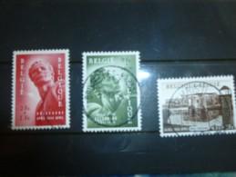 Timbre Belgique En Oblitéré 943/45 - Belgique