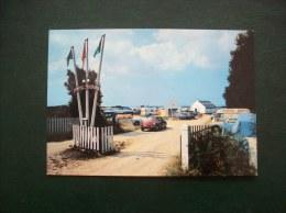 Carte Postale SM De Guérande: Camping-panorama -Voitures: Ds, Combi... - Guérande
