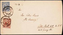 1895. 5 C + 7½ C. AMSTERDAM 7 APR 95. To Little Rock, Arkansa, USA.  (Michel: ) - JF182221 - Postal Stationery