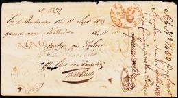 1833. POLITIE ARNHEM + Rotterdam 13 September 1833.  (Michel: ) - JF182219 - Niederlande