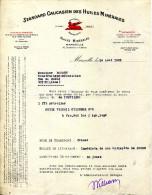 STANDARD CAUCASIEN DES HUILES MINERALES.MARSEILLE,30 BOULEVARD D'ATHENES. - Automovilismo