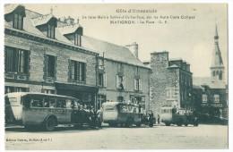 22 - MATIGNON - La Place - De Saint-Malo à Salbes-d'Or-les-Pins, Par Auto-Cars Collyer - CPA - Non Classés