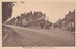 Ekeren-Donk Groote Steenweg En Oude Baan Kapelse Steenweg Brasschaat Ekeren Donk Oldtimer (In Zeer Goede Staat) - Brasschaat