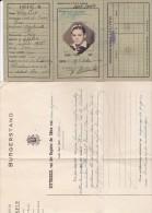 WILSELE-LEUVEN-KAART VAN EENZELVIGHEID+OVERLIJDENSACTE-HALLET-EMIEL-1945-ZIE 4 SCANS - Faire-part