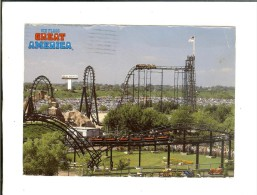 The Demon Six Flags Great America Gurnee - Stamp Igor Sikorsky - Etats-Unis