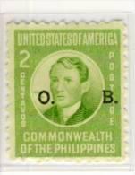 Philippines - Mi.Nr. PH - D 38 - 1941, Overprint - Refb3 - Philippines