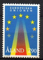 Aland - 1995 - Yvert N° 99 **  - Union Européenne - Aland