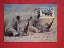 Swaziland Serie World Animals Widelife Fund 1987 Nice Stamp - Swaziland