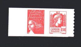N°  P43 -   (0.50 + 0.50 €   )   60° Anniversaire Marianne D'Alger Avec Marianne De Luquet - France