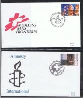 Belgie OCB  FDC 2422 / 2423 - 1991-00
