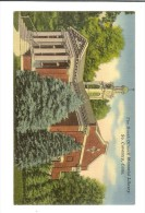 Kaufman -The Booth Dimock Memorial Library So. Coventry, Conn 1966 -two Stamps Independence Hall & A.Jackson - Etats-Unis