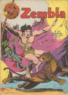Zembla N° 175 - Editions LUG à Lyon - Mars 1973 - Avec Aussi Gun Gallon Et Bill & Barry - BE - Zembla