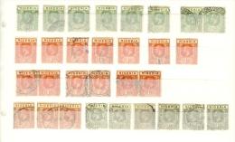 Nigeria                Partijtje  Zegels  /  Lot Of Stamps       O - Nigeria (...-1960)