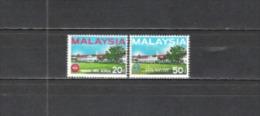 Malaysien Malaysia 1966 Gesellschaft Bildung Erziehung Schulen Penang-Freischule Bauwerke Gebäude, Mi. 34-5 ** - Malaysia (1964-...)