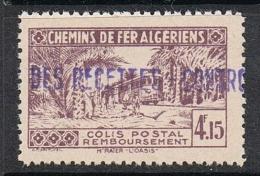 ALGERIE COLIS POSTAL N°90 N** - Paketmarken