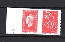 N°  P66    20 G (SVF + 0.53 €) -  2005 - Marianne De Lamouche Et  60° Anniversaire Marianne De Dulac - France