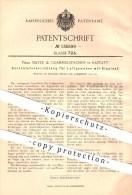 Original Patent - Mayer & Grammelspacher In Rastatt , 1901 , Verschluss Für Luftgewehre Mit Kipplauf , Gewehre , Waffen - Historische Dokumente
