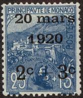 Monaco Scott #B10, 1920, Hinged - Monaco