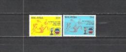Malaysien Malaysia 1975 Organisationen Arbeitswelt Gewerkschaften MTUC Wirtschaft Embleme, Mi. 129-1 ** - Malaysia (1964-...)