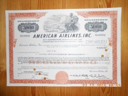 American Airlines - $5000 - 1978 - Aviation