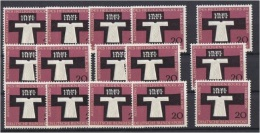 "1357o: Germany 1959, Protestantism ""Heiliger Rock Zu Trier"" 15 X ** Mint - Christianity"