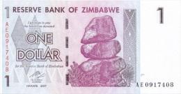 Billet Zimbabwe 1 Dollar NEUF - Zimbabwe