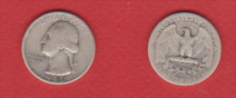Etats Unis  //  1/4 Dollar //  1935  //  TB - 1932-1998: Washington