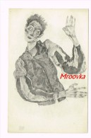 Egon Schiele, Porträt 1915 (Zeichnung) - Wien - Peintures & Tableaux