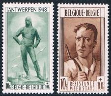 Belgique - Pour Le Monument De La Libération à Anvers Et Pour Le Monument De La Résistance à Liège 785/786 ** - Belgique
