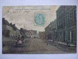 AL141215 - 71 - ENVIRONS DU CREUSOT  - MONTCENIS - PLACE DE LA FOIRE - Autres Communes