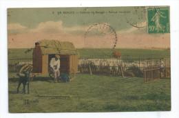 Lotcpa 209 3 Cartes En Beauce Le Moulin,Ferme Cabane De Berger Parc à Moutons Pour Chevrieres 42 Port Simple Gratuit - Autres Communes