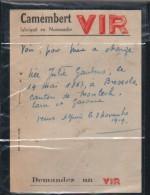 CAMEMBERT VIR-NORMANDIE - Factures